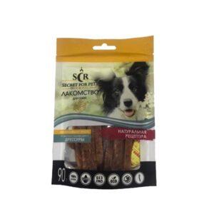 Лакомство Секрет для собак мини-пород нарезка из кролика 90 гр