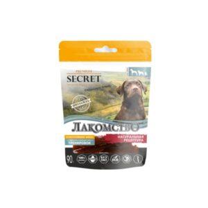 Лакомство Секрет для собак утиные палочки 90 гр