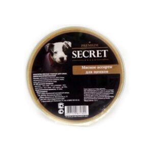 Секрет Премиум консервы для щенков мясное ассорти (ламистр.) 125 гр