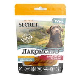 Лакомство Секрет для собак куриные медальоны