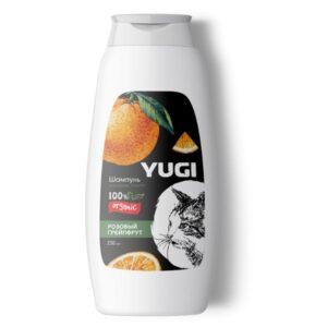 Шампунь YUGI для кошек и котят розовый грейпфрут