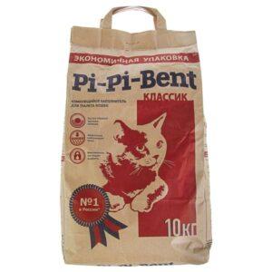 Pi-pi-bent наполнитель classic крафт-пакет 10кг
