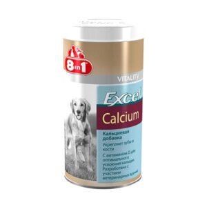 Витамины 8in1 эксель кальций для собак