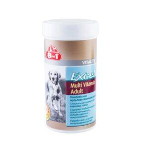 Витамины 8in1 эксель мультивитамины для взрослых собак