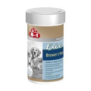 Витамины 8in1 эксель пивные дрожжи для кошек и собак