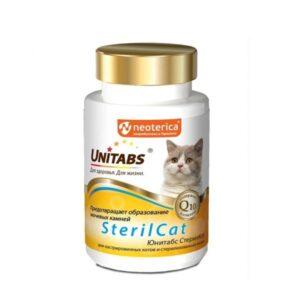 Витамины UT SterilCat с Q10 для кошек
